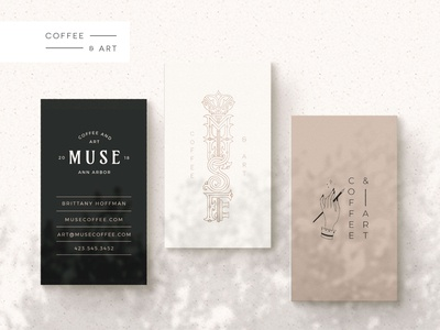 Business Cards for a Coffee Shop Brand luxury brand coffee shop branding coffee shop artwork magical key logo ornamental branding vector business card mockup brand identity logo branding design