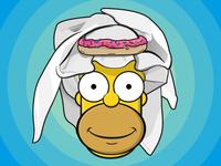 Homer goes to Saudi