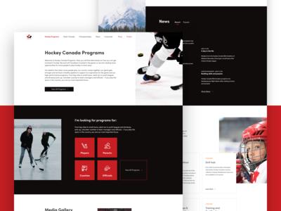 Hockey Canada Programs Landing Page