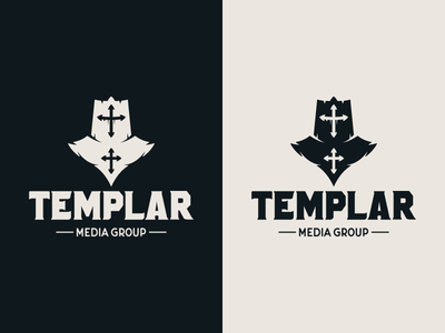 Templar - Media Group icon design icon graphic design logo design illustration design vector warrior soldier knight brand identity branding design branding logo ecommerce media logo group media