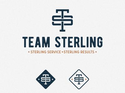 """Monogram Logo """"Team Sterling"""""""