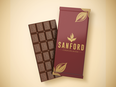Sanford Chocolate vintage type