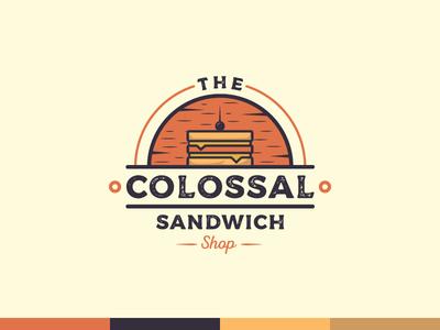 The Colossal Sandwich Shop vintage