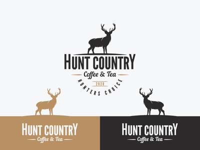 Logo for a vintage Coffee house meant for hunters
