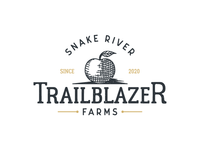 Rustic Logo for an Apple Farm - Trailblazer