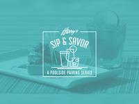 Harry's Sip & Savor Poolside Pairing Series