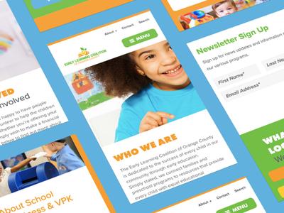 Children's Education Mobile Screens