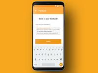Feedback | UI UX