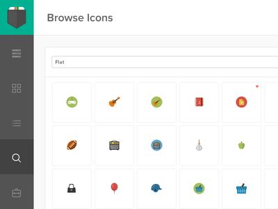 Browsing - Icon Pocket