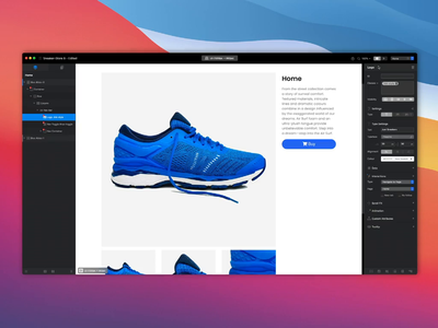 Blocs - Preview In Browser UX design web mac mac app website builder browser ux