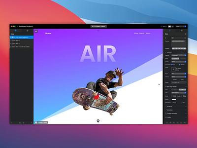 Blocs - Combine JS & CSS css js mac web app design