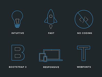 Blocs icons