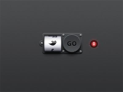 Scroll button