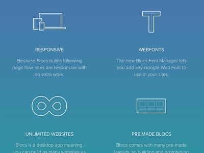 Blocs 2 - Website