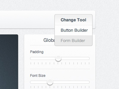 Clean Dropdown clean drop down menu simple minimal ui user interface fresh