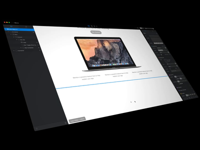 Stacking Blocs app mac design web blocs