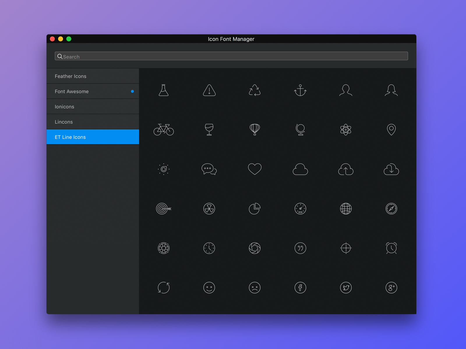 Icon manager refresh