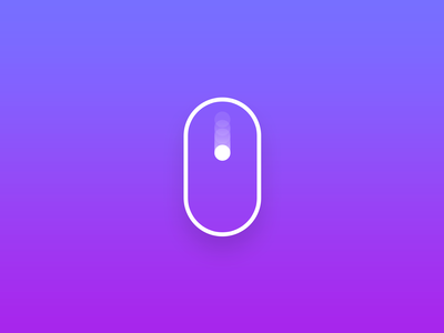 Animated Scroll Button Bric
