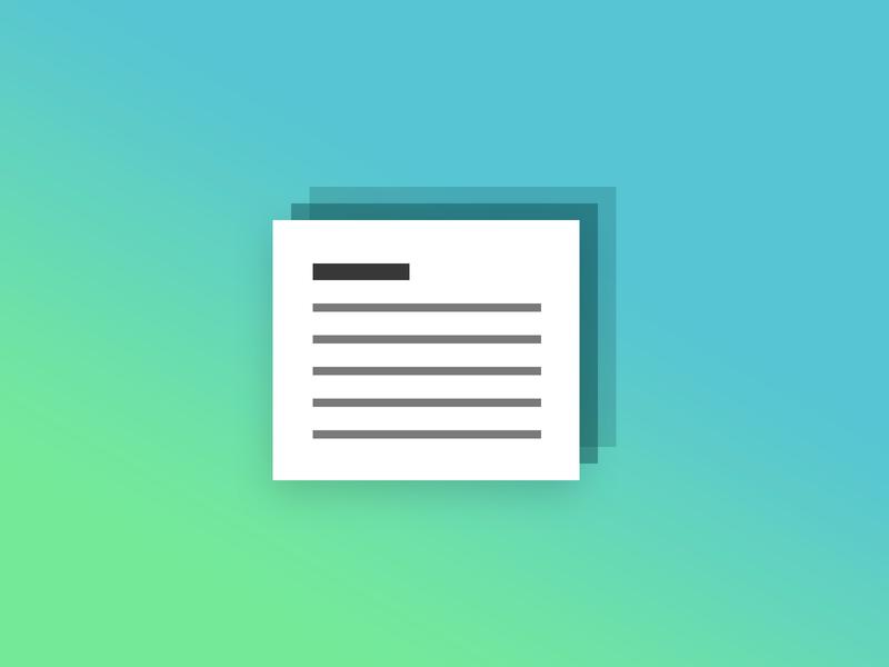 Notes Bric app mac component design web