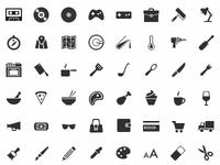 iOS glyphs - 30x30px