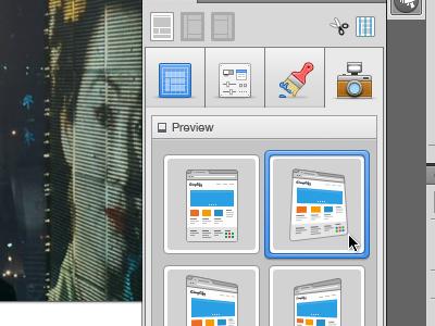 Zap - Previews preview angles web design photoshop plugin camera icon