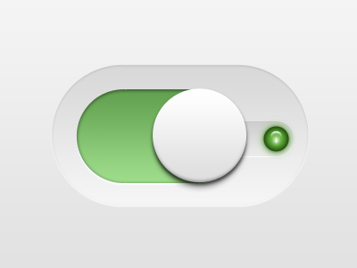 Big Switch - PSD clean ui design modern simple minimal free psd user interface gui