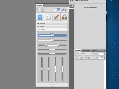 Creating Sliders - Photoshop plugin