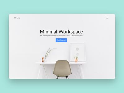 Minimal Bloc gui design interface ui web design website
