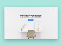 Minimal Bloc gui design interface ui web design website