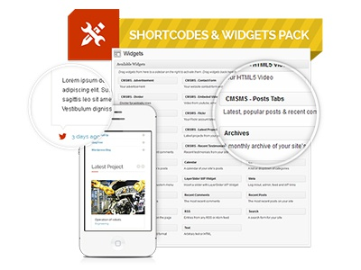 Extended shortcodes pack copy