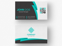 Simple Double Sided Business Card