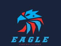 Flat Mascot Logo