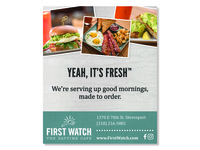 First Watch Ad