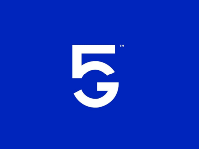 5G concept sign symbol logomark logotype idea minimal clean less idenity concept logo 5g