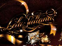 Lela Sultana cusotm lettering