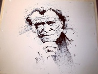 Charles Bukowski By chin2off