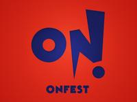 ON!Fest new identity