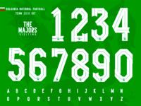 The Majors / Bulgaria National football team kit