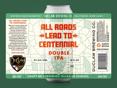↜ All Roads Lead To Centennial ↝ atlas map india pale ale script sign craft beer centennial dry hopped hops beer