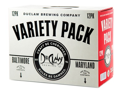 Variety is the Spice of Life beer design craft beer beer sampler pack variety pack 12 pack