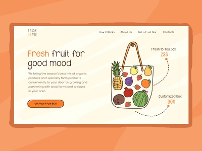 Fresh to you website