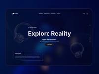 Oculus Quest Website Design quest oculus virtual reality branding logo ux ui design ux design ui design app web design website