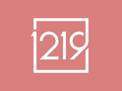 1219 Real Estate Logo Design logotype type branding real estate logo apartment condo home 1219 property developer