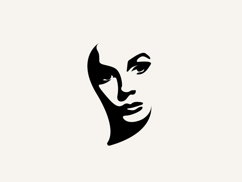 Woman Portrait Illustration Design female drawing draw logo design branding woman character face sketchbook sketch vector art logo design woman illustration woman portrait silhouette