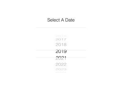 2020 - Lost year.. mobile ui date picker select a date lost year year 2020