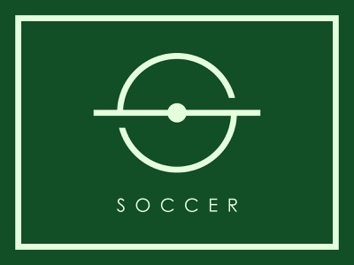 Soccer Monogram Logo Mark Design letter s monogram branding mark logo mark football soccer