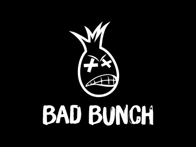 Bad Bunch Streetwear Clothing Logo Mark & Brand Mascot Design fashion mascot design clothing brand bold logo logo design branding logo mark apparel clothing streetwear angry pineapple