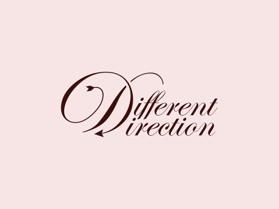 Different Direction Clothing Monogram & Logo Design monogram clothing company minimalist clothing brand branding mark logo mark logo design logo apparel fashion clothing