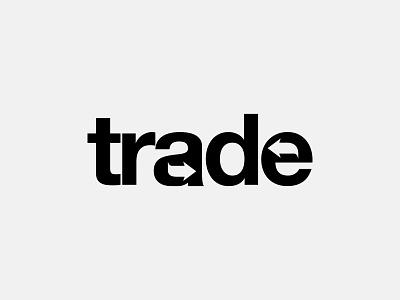Trade Wordmark Letter Mark Logo Design branding logo logo design type loyotype letter mark logo mark mark wordmark sell buy trade