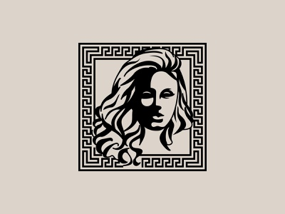 Woman Silhouette Illustration & Fashion Logo Mark Design luxury clothing fashion versace branding logo logo design mark logo mark sketch illustration silhouette woman
